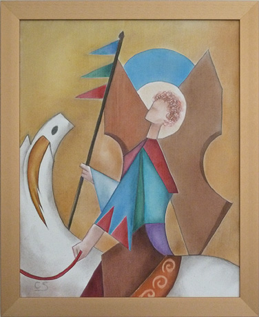"""Angel on Horseback"" (№2)"